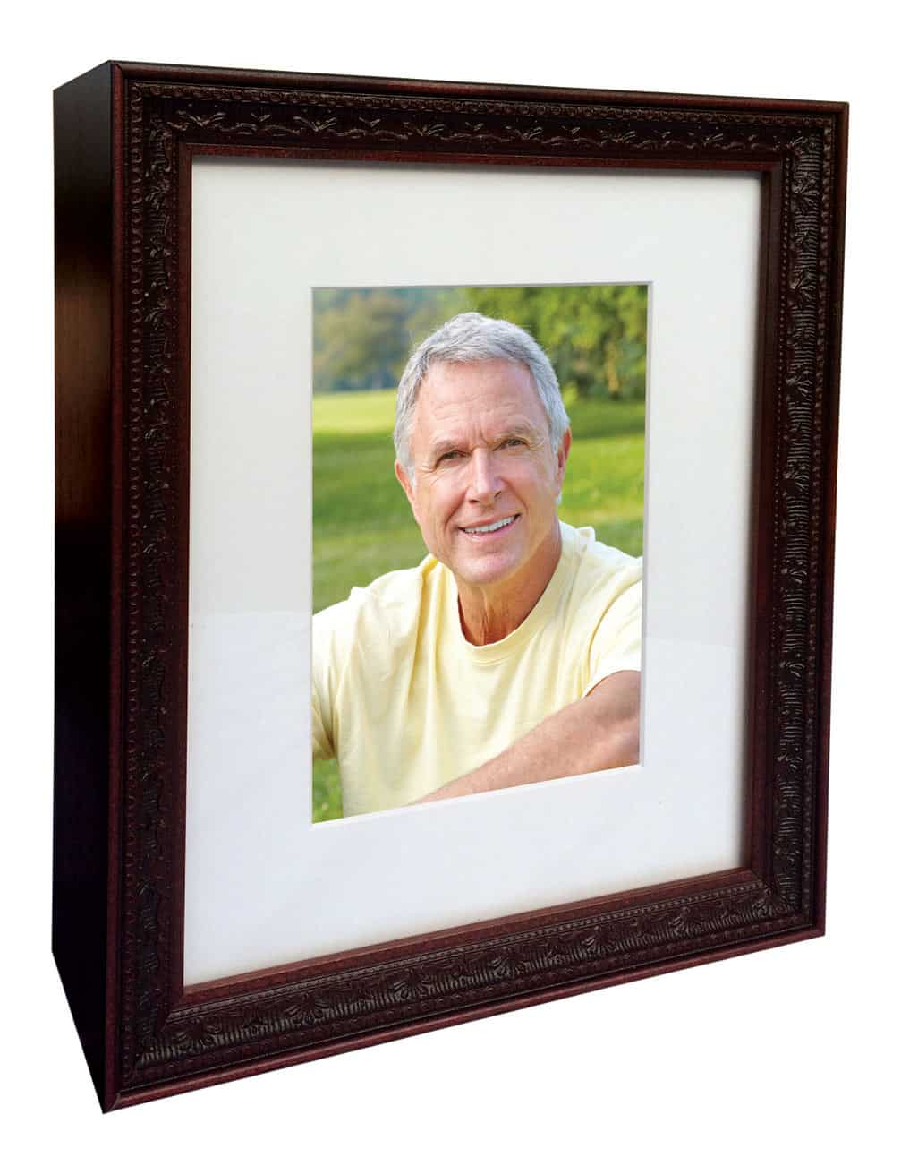 https://goinghomecremations.com/wp-content/uploads/2020/08/affordable-cremation-urn-for-ashes-Legacy-Picture-Frame-Cherry.jpg