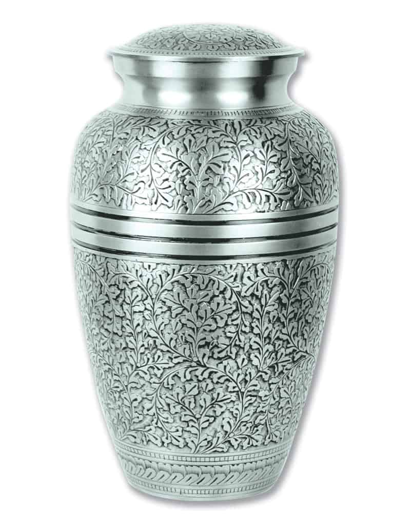 https://goinghomecremations.com/wp-content/uploads/2020/08/affordable-cremation-urn-for-ashes-Silver-Oak.jpg